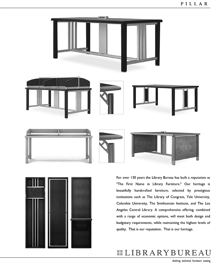 CommCab Library Casework Library Bureau-LEAF-Tech Furniture